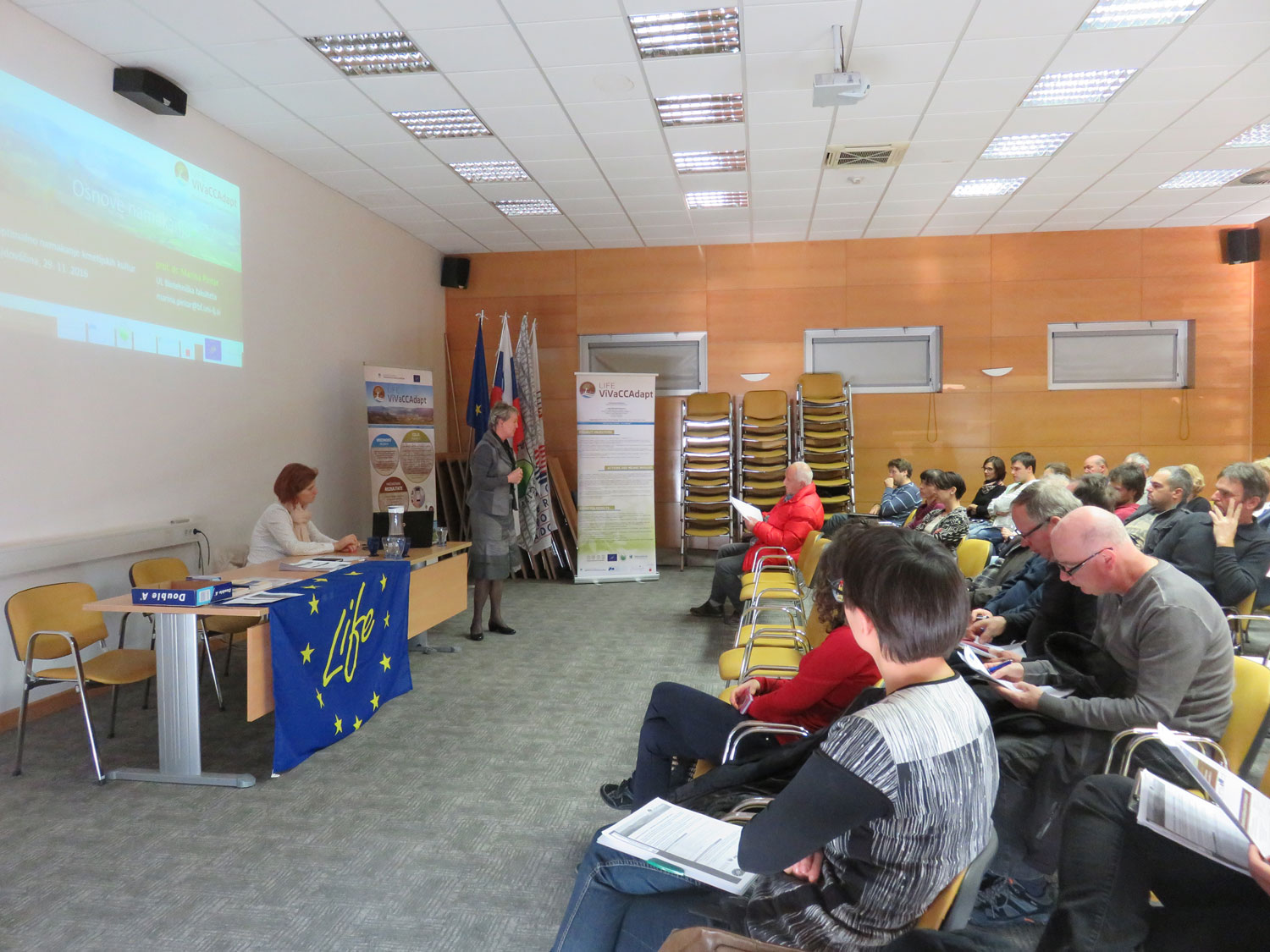 LIFE ViVaCCAdapt; Adapting to the impacts of Climate Change in the Vipava Valley